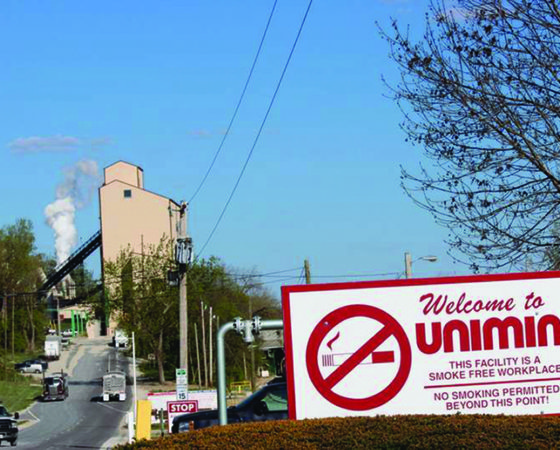 Unimin Corporation in Utica, IL